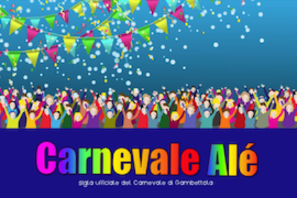 CARNEVALE ALE' - Video animato